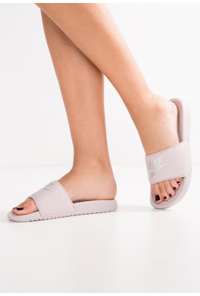 Black Friday 2020 | Nike BENASSI JDI - Mules particle rose/metallic silver liquidation
