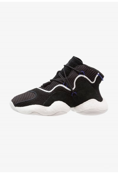 Adidas CRAZY BYW - Baskets montantes core black/footwear white/real purple pas cher