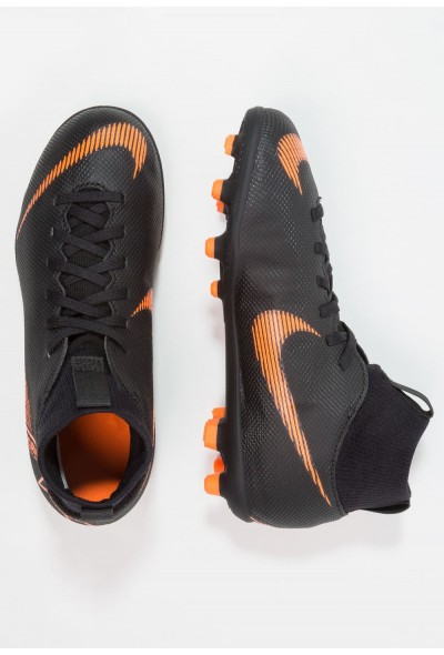 Nike CLUB MG - Chaussures de foot à crampons black/total orange/white liquidation