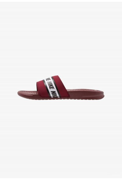 Nike BENASSI - Sandales de bain team red/white liquidation