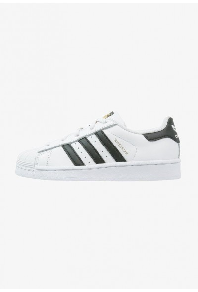 Adidas SUPERSTAR FOUNDATION - Baskets basses white/core black pas cher