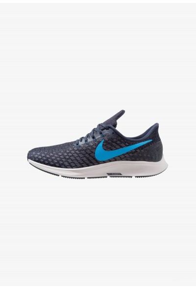Nike AIR ZOOM PEGASUS 35 - Chaussures de running neutres obsidian/blue hero/gunsmoke/vast grey liquidation