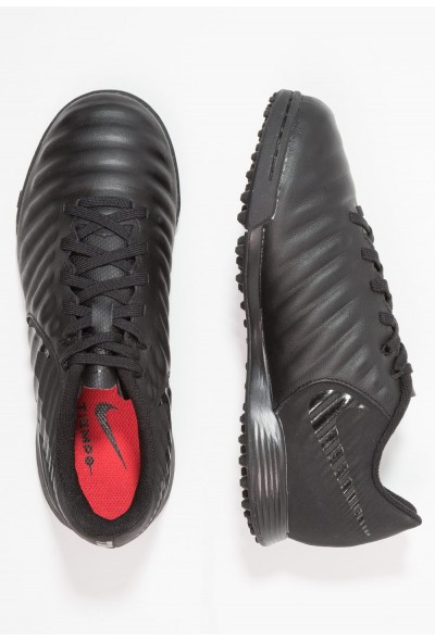 Nike TIEMPO LEGENDX 7 ACADEMY TF - Chaussures de foot multicrampons black/light crimson liquidation