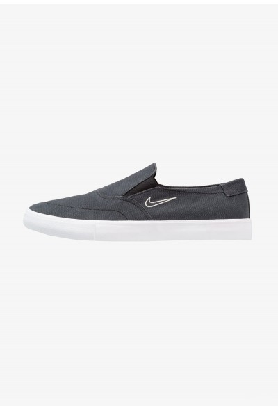 Nike PORTMORE - Mocassins black/light bone liquidation