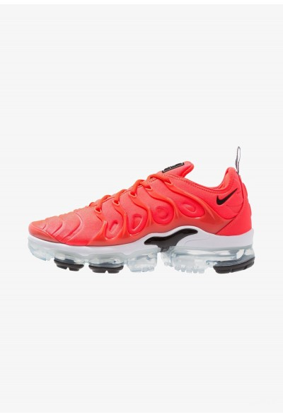 Nike AIR VAPORMAX PLUS - Baskets basses bright crimson/black/white liquidation