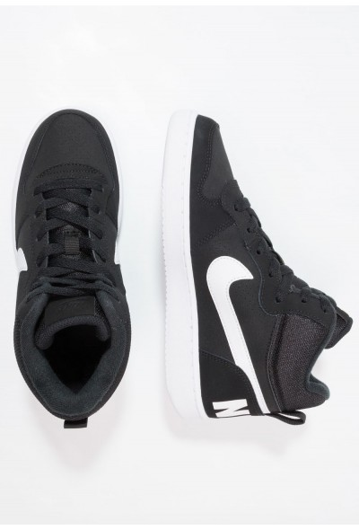 Nike COURT BOROUGH MID - Baskets montantes black/white liquidation