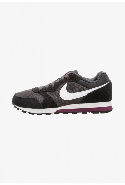 Nike DAMEN - Baskets basses anthracit /white/black/bordeaux liquidation