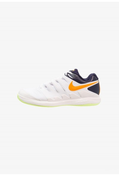 Nike AIR ZOOM VAPOR X CLAY - Chaussures de tennis sur terre battue phantom/orange peel/blackened blue/white/volt glow liquidation