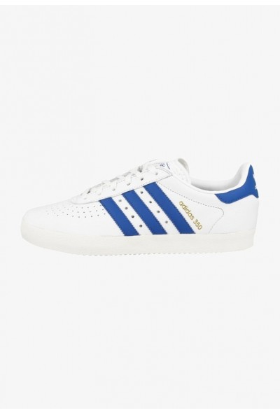 Adidas 350 - Baskets basses white, blue, off white pas cher