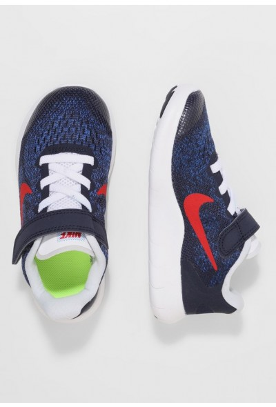 Black Friday 2020 | Nike FREE 2 - Chaussures de course neutres obsidian/university red/racer blue/photo blue liquidation