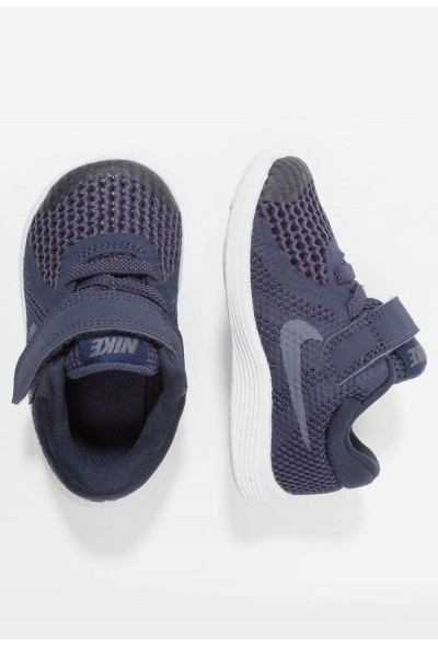 Nike REVOLUTION 4 - Chaussures de running neutres neutral indigo/light carbon/obsidian/black/white liquidation