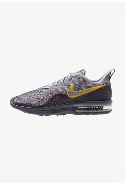 Nike AIR MAX SEQUENT 4 - Chaussures de running neutres gridiron/metallic pewter/provence purple/white/peat moss liquidation