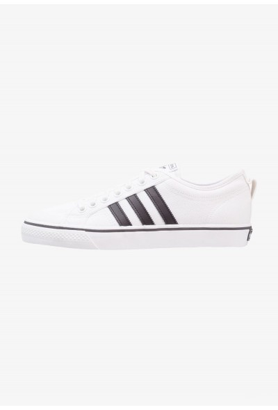 Adidas NIZZA - Baskets basses footwear white/core black pas cher