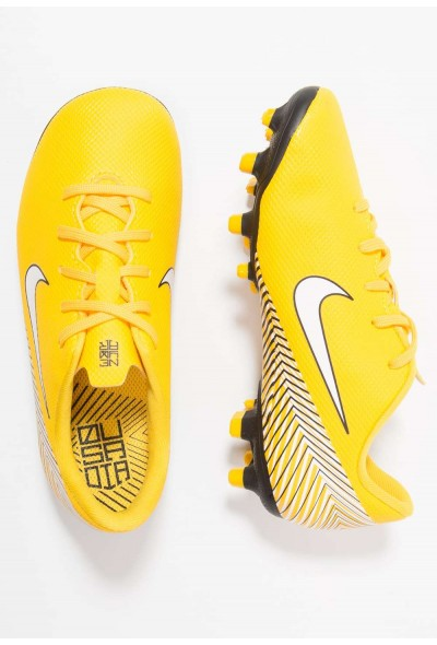 Black Friday 2020 | Nike MERCURIAL VAPOR 12 ACADEMY NJR MG - Chaussures de foot à crampons amarillo/white/black liquidation