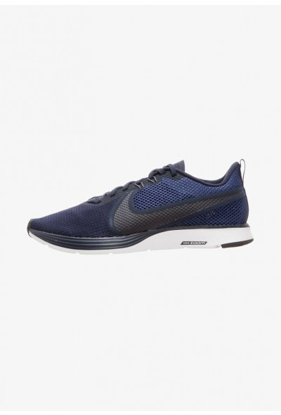Nike ZOOM STRIKE - Chaussures de running neutres obsidian blue/blue void/thunder grey/white liquidation