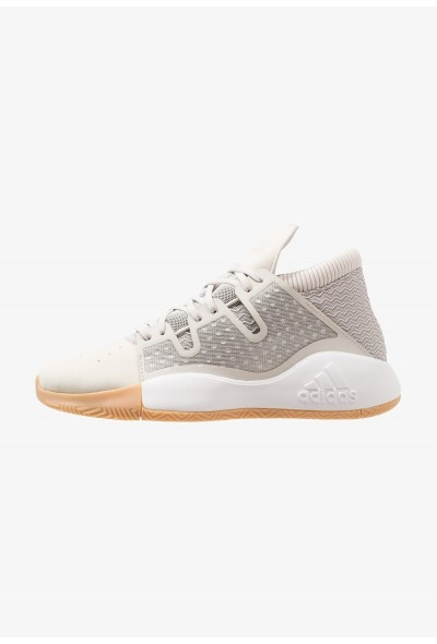 Adidas PRO VISION - Chaussures de basket raw white/light brown pas cher