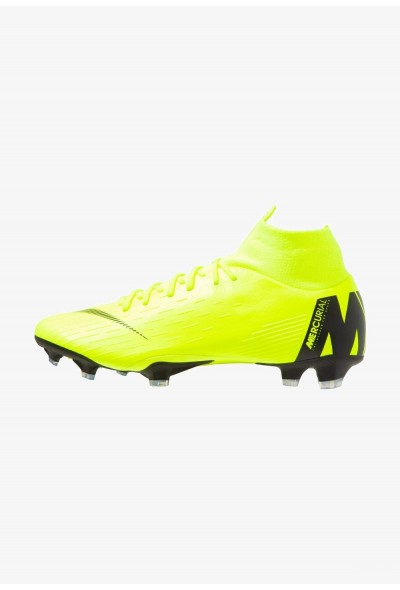 Black Friday 2020 | Nike MERCURIAL 6 PRO FG - Chaussures de foot à crampons volt/black liquidation