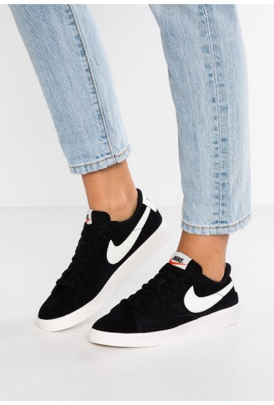 Nike BLAZER - Baskets basses black/sail liquidation