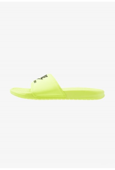 Black Friday 2020 | Nike BENASSI JDI SE - Mules volt/black liquidation