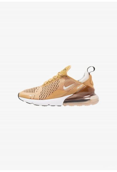 Nike AIR MAX 270 - Baskets basses elemental gold/black/light bone liquidation