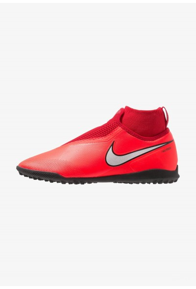 Black Friday 2020 | Nike PHANTOM REACT OBRA PRO TF - Chaussures de foot multicrampons bright crimson/metalic silver/university red/black liquidation