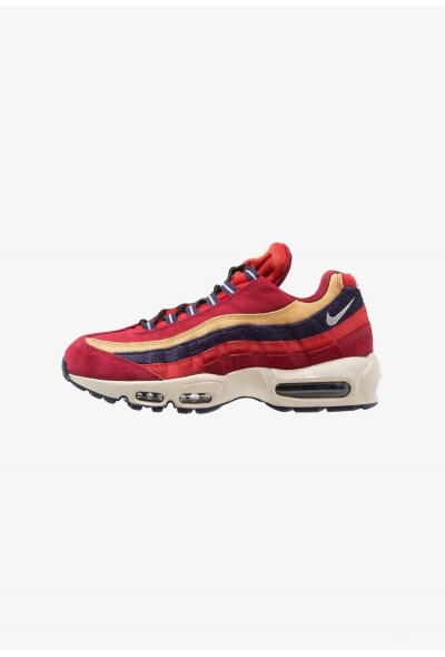 Nike AIR MAX 95 PRM - Baskets basses red crush/provence purple/wheat gold/university red/light cream/blackened blue liquidation