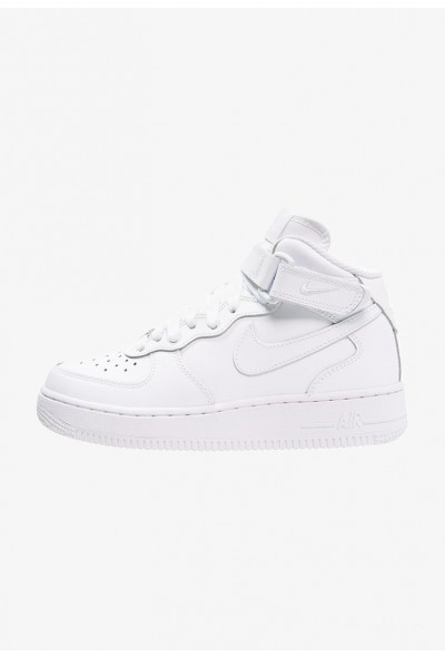 Nike AIR FORCE 1 - Baskets montantes white liquidation