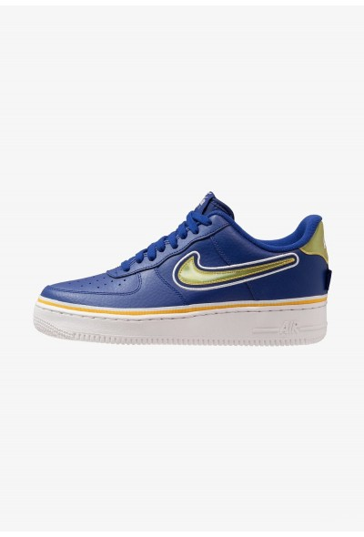 Nike AIR FORCE 1 '07 LV8 SPORT - Baskets basses deep royal/universal gold/off white liquidation