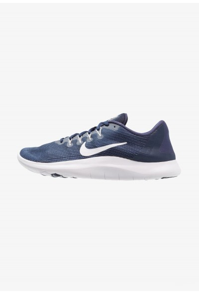 Black Friday 2020 | Nike FLEX 2018 RUN - Chaussures de course neutres midnight navy/white/blue recal liquidation