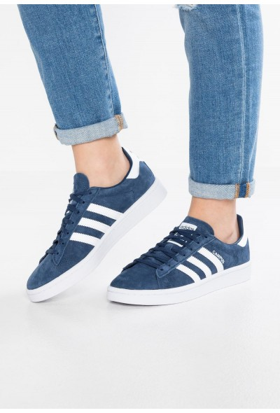 Adidas CAMPUS - Baskets basses mineral blue/footwear white pas cher