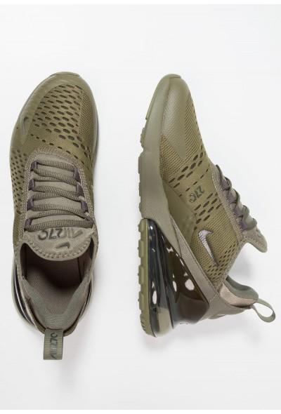 Nike AIR MAX 270 - Baskets basses medium olive/newsprint liquidation