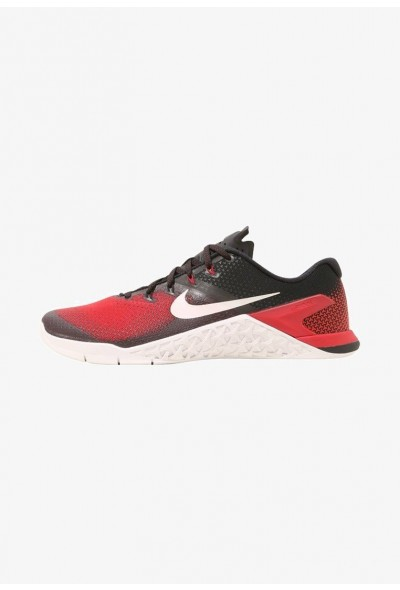 Nike METCON 4 - Chaussures d'entraînement et de fitness black/vast grey/hyper crimson/habanero red/atmosphere grey liquidation