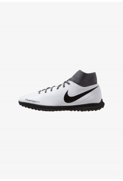 Nike PHANTOM OBRAX 3 CLUB DF TF - Chaussures de foot multicrampons wolf grey/black/light crimson liquidation