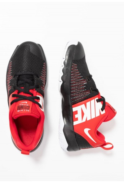 Black Friday 2020 | Nike TEAM HUSTLE QUICK - Chaussures de basket black/white/university red liquidation