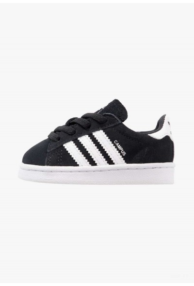 Adidas CAMPUS - Mocassins black pas cher