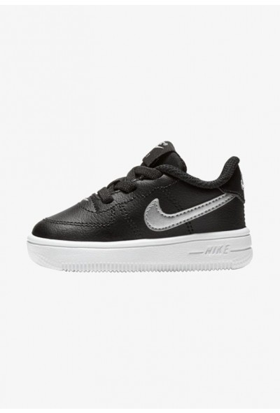 Black Friday 2020 | Nike FORCE 1 18 - Chaussures premiers pas black/white liquidation