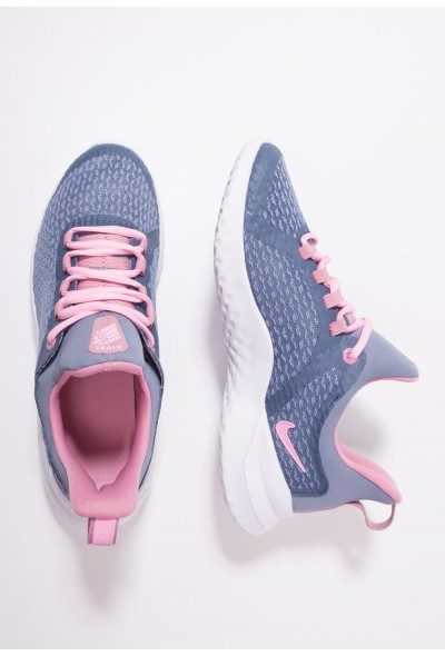 Nike RENEW RIVAL - Chaussures de running neutres diffused blue/pink/ashen slate liquidation