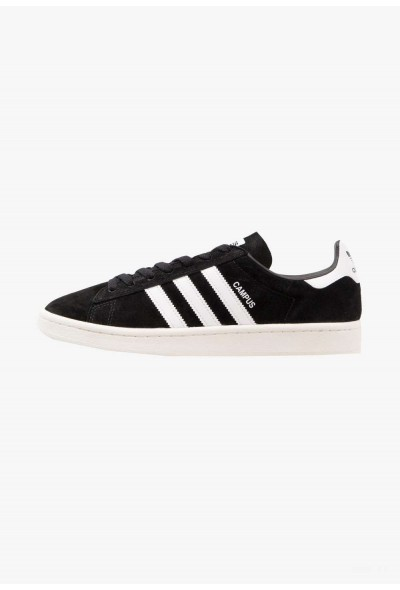 Adidas CAMPUS - Baskets basses core black/footwear white/chalk white pas cher