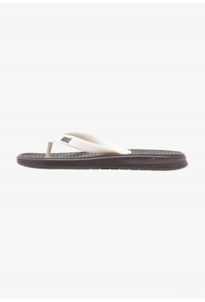 Nike SOLAY THONG - Tongs thunder grey/pale ivory liquidation