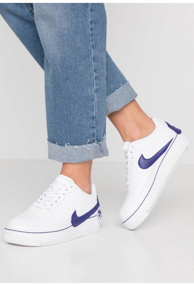 Cadeaux De Noël 2019 Nike AF1 JESTER XX - Baskets basses white/regency purple liquidation