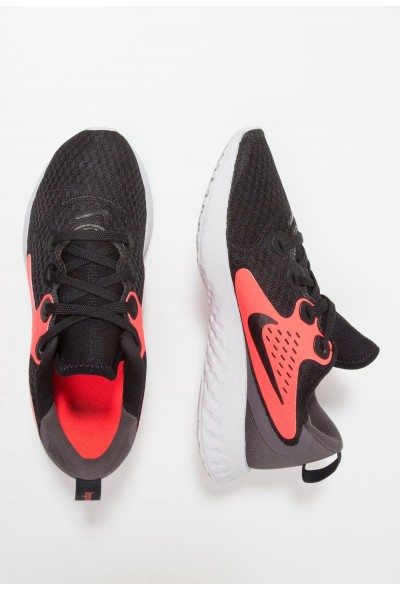 Black Friday 2020 | Nike LEGEND REACT - Chaussures de running neutres black/flash crimson/thunder grey liquidation