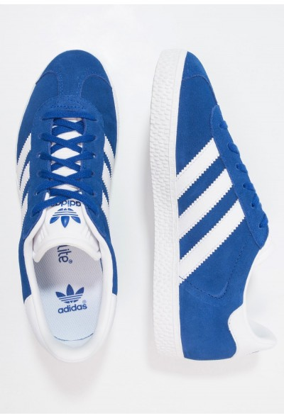 Adidas GAZELLE - Baskets basses collegiate royal/footwear white pas cher