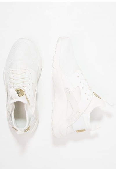 Nike AIR HUARACHE RUN ULTRA  - Baskets basses summit white/metallic gold star liquidation