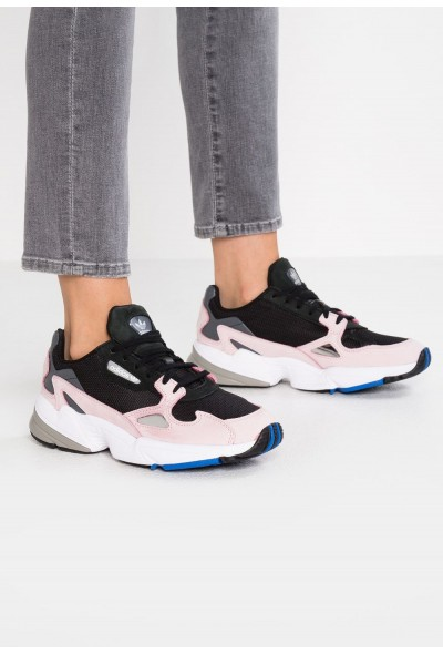 Adidas FALCON - Baskets basses core black/light pink pas cher