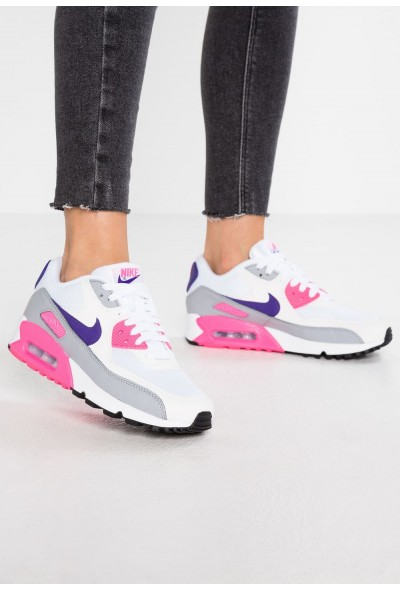 Nike AIR MAX - Baskets basses white/court purple/wolf grey/laser pink liquidation