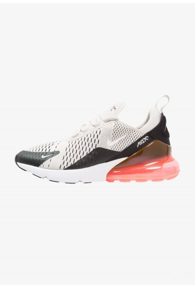 Nike AIR MAX 270 - Baskets basses black/light bone/hot punch/white liquidation