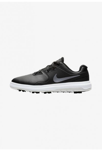Nike Chaussures de golf black/silver/metallic grey liquidation