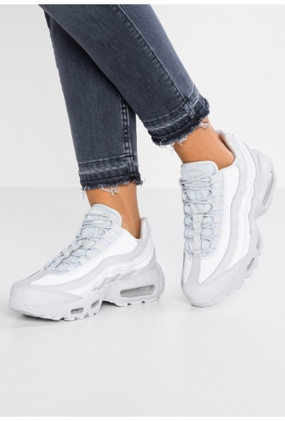 Nike AIR MAX 95 LX - Baskets basses pure platinum liquidation