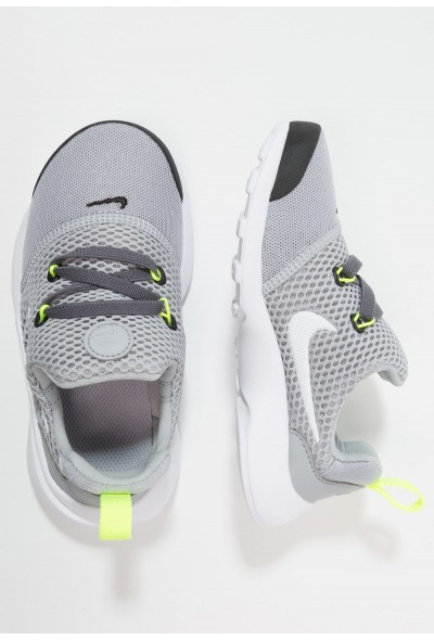 Black Friday 2020 | Nike PRESTO FLY - Mocassins wolf grey/black/volt/white liquidation