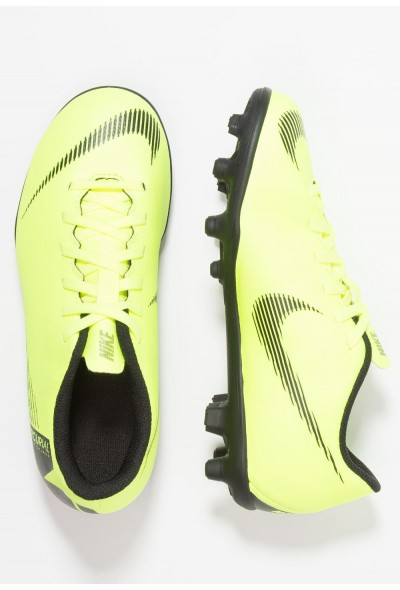 Nike MERCURIAL VAPOR 12 CLUB MG - Chaussures de foot à crampons volt/black liquidation